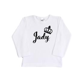 Shirt | Kroon sierlijk | Gepersonaliseerd