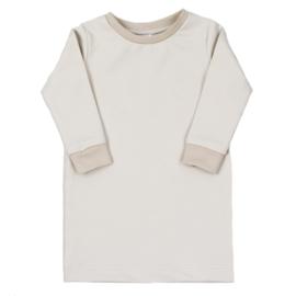 T-Shirt Dress | Buttercream | Handmade