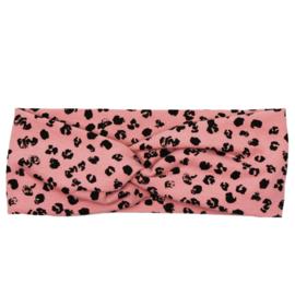 Haarband Twist | Leopard Rose | Handmade