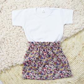 Shirt Basic | Rokje | Vintage Blossom