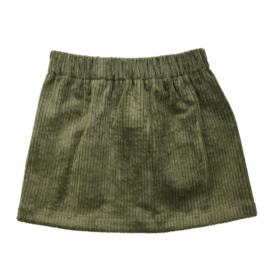 Rokje | Cotton Rib | Khaki | Handmade