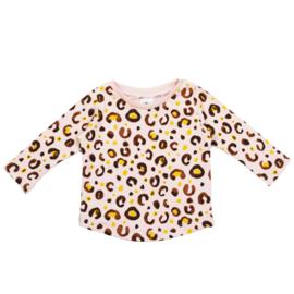 Longsleeve | Leopard Baby Rose | Handmade