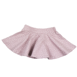 Circle Skirt | Sprinkles Old Pink | Handmade