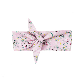 Haarband | Flowerprint Light Pink | Handmade