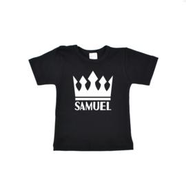 Shirt | Kroon recht | Gepersonaliseerd