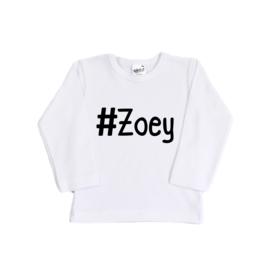 Shirt - Gepersonaliseerd - Hashtag