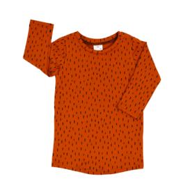 T-Shirt Dress | Stripes | Amberglow | Handmade