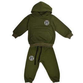 Royal Rebel Set | Hoodie | Oversized | Army Green