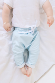 Avillo | Imitation Leather Pants | Baby Blue