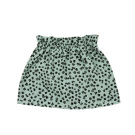 Rokje | Leopard Old Green | Handmade