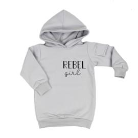 Baggy Hoodie Dress | Rebel Girl | 6 Kleuren