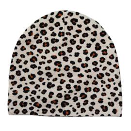 Beanie   Mini Leopard   Handmade