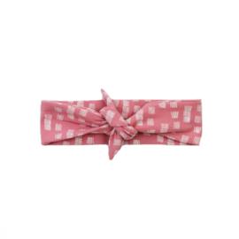 Haarband | Rosy Groove | Handmade