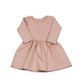 Long Sleeve Dress | Blush | Handmade