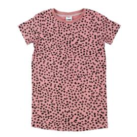 T-Shirt Dress | Leopard Rose | Handmade