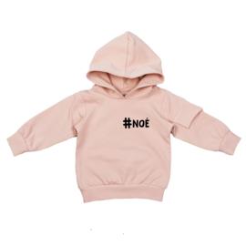 Hoodie met klepzakje | Hashtag Klein | 4 Kleuren