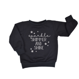 Sweater | Sparkle Shimmer and Shine | 7 Kleuren