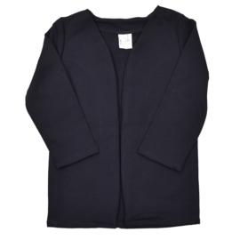 Lang vest | Black | Handmade