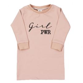 T-Shirt Dress | Girl Pwr | Handmade