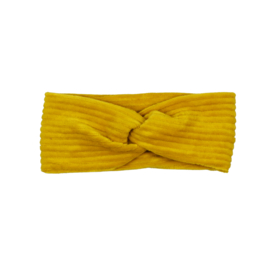Haarband Twist | Corduroy Ochre | Handmade