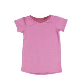 T-Shirt Dress | Cassis | Handmade