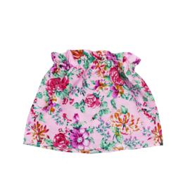 Rokje | Floral Pink | Handmade