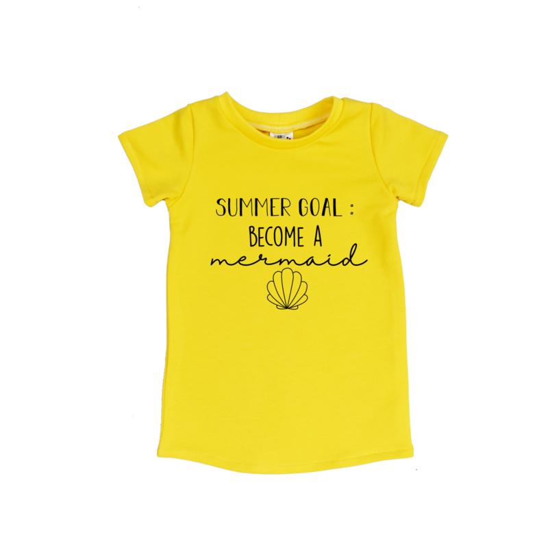 T-Shirt Dress | Become A Mermaid | 7 Colors