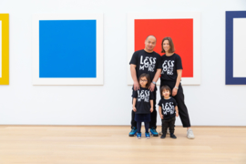 Less is more kids t-shirt by Parra