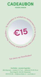 Gift voucher 15 euro