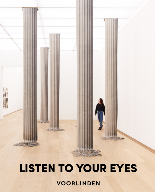 Catalogus collectietentoonstelling Listen to Your Eyes