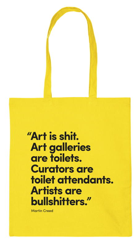 Totebag Martin Creed