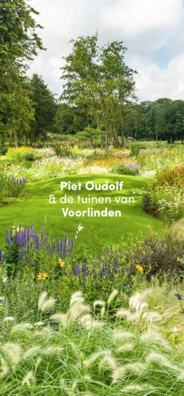 Folder Piet Oudolf & de tuinen van Voorlinden