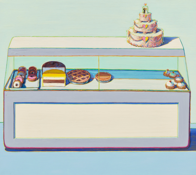 Poster Wayne Thiebaud: Bakery Case (1969)