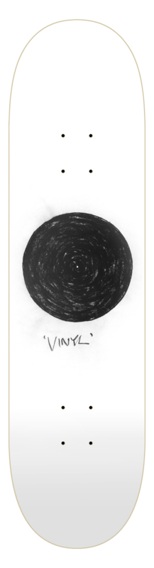 Robin Rhode Limited x The Skateroom - Charcoal Drawings Vinyl