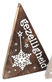 Kerst driehoeken