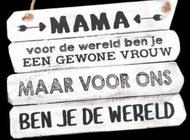 Mama voor ons