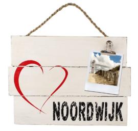 """Memo bord """"I love Noordwijk"""""""