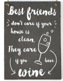 tekstbord Best Friends