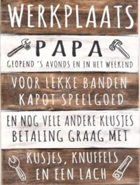 Werkplaats Papa
