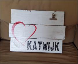 "Memo bord ""I love Katwijk """