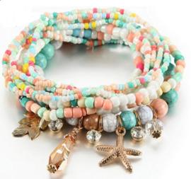 kleurrijke armband