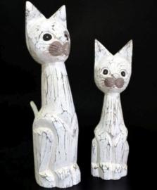 Houten Kat staand