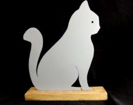 Kat zittend