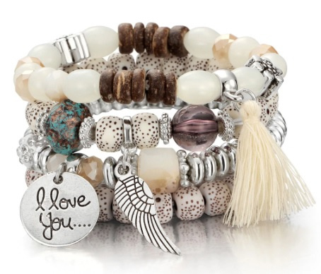 Crystal armband wit