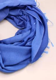 Royal Blue water pashmina sjaal