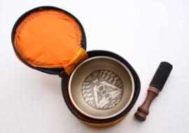 Zeven chakra klankschaal in geschenkdoos