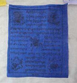 Grote katoenen Tibetaanse gebedsvlaggen (5 rollen)