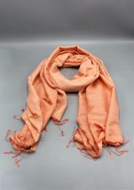 Light Peach water pashmina sjaal