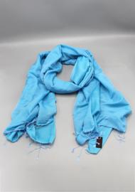 Mosaic Blue water pashmina sjaal