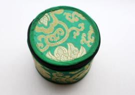 Handgeschilderde green Tara klankschaal